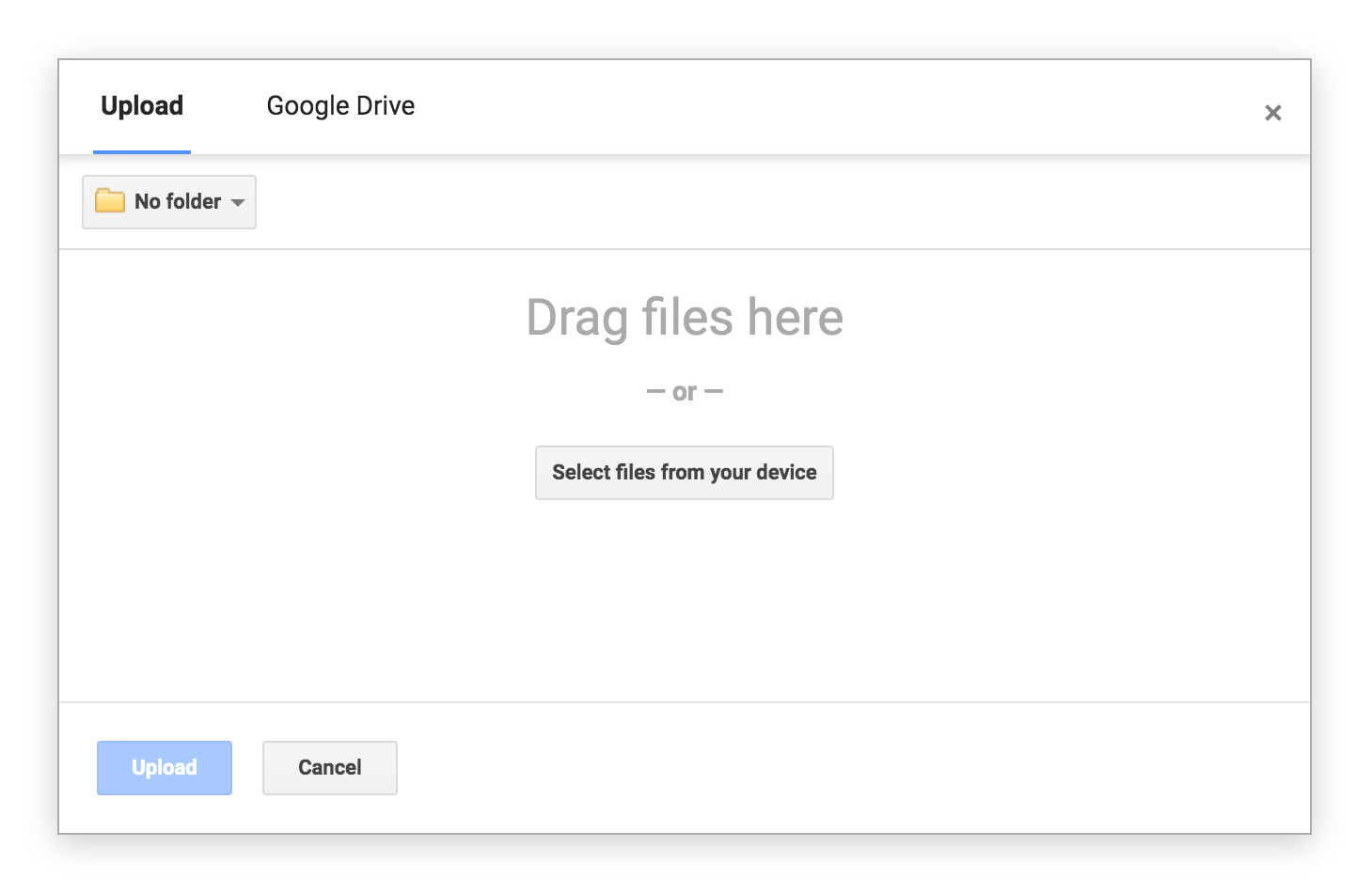Create online database of files in Google Drive or Dropbox